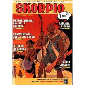 Skorpio Anno 40 In Poi - N° 2052 - Skorpio - Skorpio Editoriale Aurea