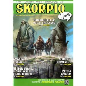 Skorpio Anno 40 In Poi - N° 2053 - Skorpio - Skorpio Editoriale Aurea