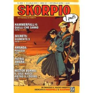 Skorpio Anno 40 In Poi - N° 2054 - Skorpio - Skorpio Editoriale Aurea