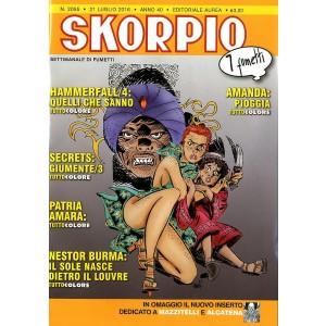 Skorpio Anno 40 In Poi - N° 2055 - Skorpio - Skorpio Editoriale Aurea