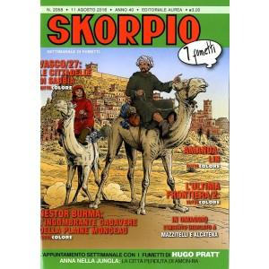 Skorpio Anno 40 In Poi - N° 2058 - Skorpio - Skorpio Editoriale Aurea