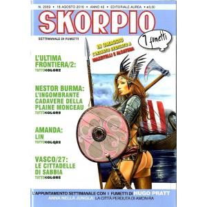 Skorpio Anno 40 In Poi - N° 2059 - Skorpio - Skorpio Editoriale Aurea