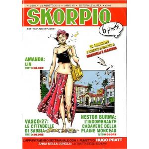 Skorpio Anno 40 In Poi - N° 2060 - Skorpio - Skorpio Editoriale Aurea
