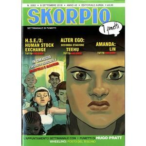 Skorpio Anno 40 In Poi - N° 2062 - Skorpio - Skorpio Editoriale Aurea