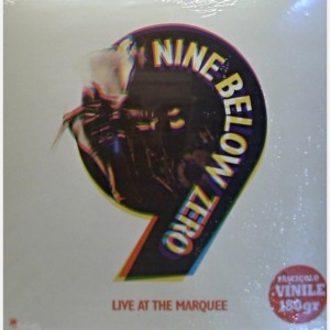 Blues in Vinile Nine Below Zero, Live at the Marquee