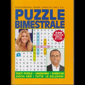 Puzzle Bimestrale - n. 59 - dicembre - gennaio 2019 - 100 pagine
