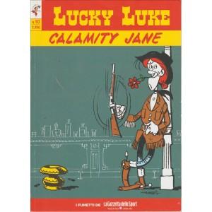 LUCKY LUKE VOL.10 - CALAMITY JANE - Iniz.Gazzetta Dello Sport