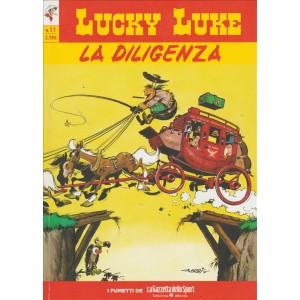 LUCKY LUKE VOL.11 - LA DILIGENZA - Iniz.Gazzetta Dello Sport