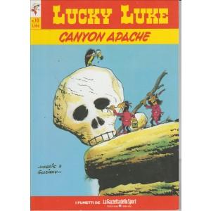 LUCKY LUKE VOL.16 - CANYON APACHE - Iniz.Gazzetta Dello Sport