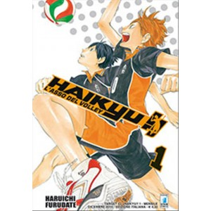 Manga HAIKYU!!  n.1 - ed. Star Comics - collana Target uscita 43