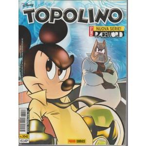 Topolino  - raceworld - panini comics - numero 3042 - disney