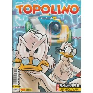Topolino  - raceworld - panini comics - numero 3043 - disney
