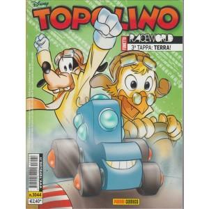 Topolino  - raceworld, terza tappa: TERRA - panini comics - numero 3044 - disney