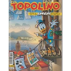 Topolino  - TUTTI AL COMICON DI NAPOLI! - panini comics - numero 3049 - disney