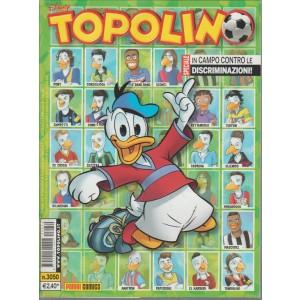 Topolino  - in campo contro le discriminazioni - panini comics - N.3050 - disney