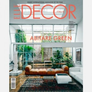 ELLE Decor Giugno 2018 + in Regalo Blow Up