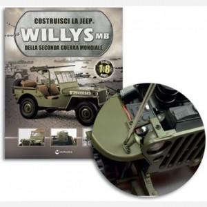 Costruisci la Jeep Willys MB Clacson e supporto,Piastrina, Stelo,Cilindro, maniglia, viti