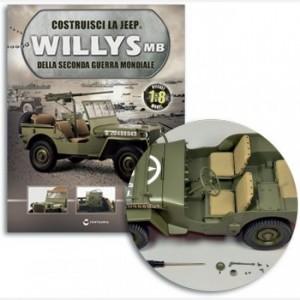 Costruisci la Jeep Willys MB Stelo specchietto,Staffa sup e infer specchietto,Corpo specchietto,specchio,viti