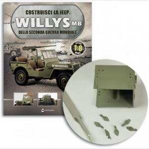 Costruisci la Jeep Willys MB Radio,Fibbia