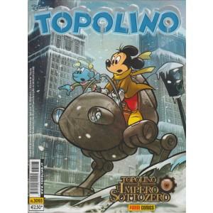 Topolino - topolino e l'impero sottozero - numero 3093 - disney - panini comics
