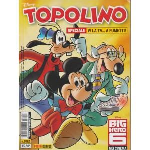Topolino - w la tv... a fumetti - numero 3082 - disney - panini comics