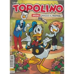 Topolino  - omaggio al festival! - numero 3039 - disney - panini comics