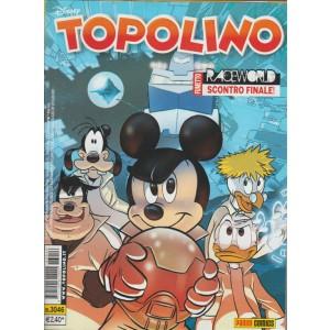 Topolino  - raceworld scontro finale - numero 3046 - disney - panini comics