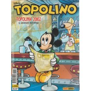 Topolino  - topolinia 20802 il grande ritorno - n. 3040 - disney - panini comics