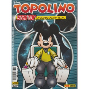 Topolino  - startop la grande saga ha inizio - n. 3079 - disney - panini comics