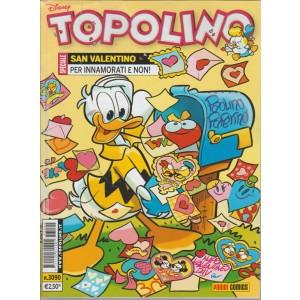 Topolino - san valentino per innamorati e non! - n.3090 - disney - panini comics