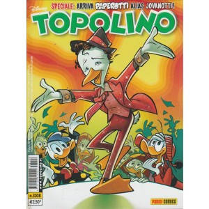Topolino - arriva paperotti alias giovanotti - n.3108 - disney - panini comics