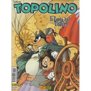 Topolino - l'isola del tesoro- n.3094 - disney - panini comics