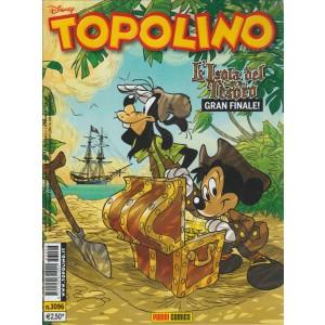 Topolino - l'isola del tesoro gran finale! - n.3096- disney - panini comics