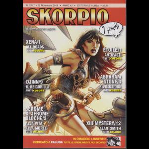 Skorpio - n. 2177 - 22 novembre 2018 - settimanale di fumetti -