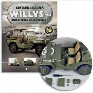 Costruisci la Jeep Willys MB Tanica 1 e 2, tappo tanica, maniglia tanica, supporto tanica