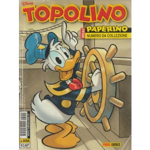 TOPOLINO - PAPERINO NUMERO DA COLLEZIONE - NUMERO 3054 - DISNEY - PANINI COMICS