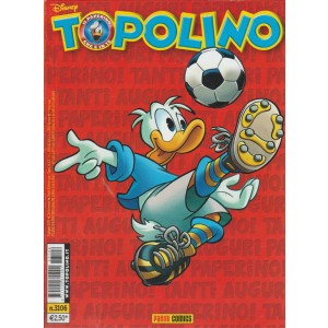 TOPOLINO - NUMERO 3106 - DISNEY - PANINI COMICS