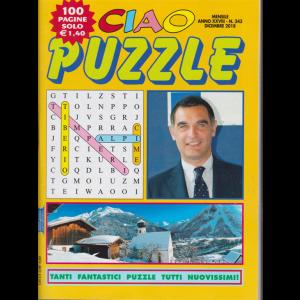 Ciao Puzzle - n. 343 - mensile - dicembre 2018 - 100 pagine