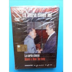 LA STORIA SIAMO NOI n.19 - LA CARTA CINESE - NIXON E MAO TSE-TUNG - DVD