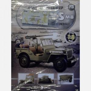 Costruisci la Jeep Willys MB Canna, manicotto raffreddamento, spegnifiamma, connettore cilindrico, impugnatura