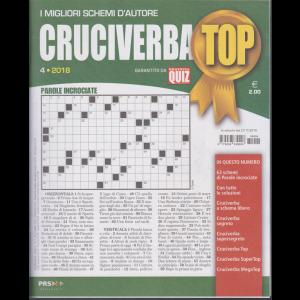 Cruciverba Top - n. 4 - trimestrale - novembre 2018 - gennaio 2019 -