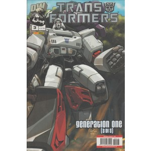 TRANSFORMERS - NUMERO 3 - PANINI COMICS - GENERATION ONE (3DI 3) MEGA CULT 13