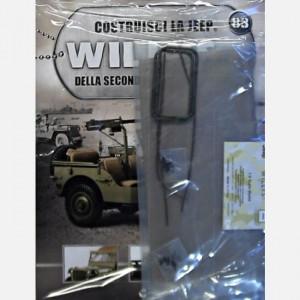 Costruisci la Jeep Willys MB Telone, cornice 1, cornice 2, lacci telone