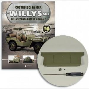 Costruisci la Jeep Willys MB Sponda anteriore, rimorchio, gancio