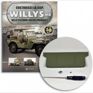 Costruisci la Jeep Willys MB Sponda superiore, rimorchio, gancio