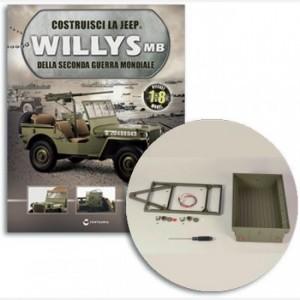Costruisci la Jeep Willys MB Telaio rimorchio, corpo staffa vetro luce coda sx e dx, cablaggio luci rimorchio