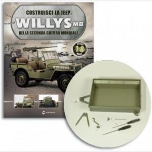 Costruisci la Jeep Willys MB Struttura per traino, freno, tirante freno, staffa freno, fermi leva, viti
