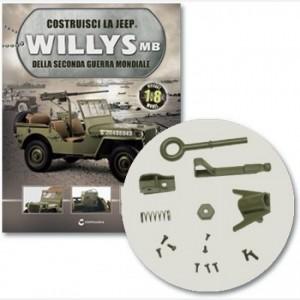 Costruisci la Jeep Willys MB Staffa e cavalletto, staffa e gancio traino, fermamolla, molla, viti