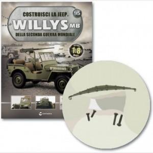 Costruisci la Jeep Willys MB Balestra, viti