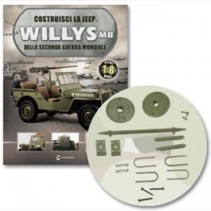 Costruisci la Jeep Willys MB Asse rimorchio, piastre, cavallotti, tamburo freno, stelo ammortizzatore, molla, viti